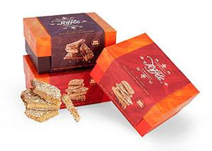 Nashville Toffee Company almond toffee now available at The Fresh Market